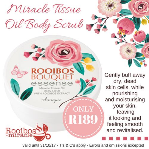 #annique #rooibosmiracle #octoberspecials