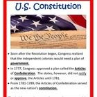 U.S. Constitution  Assessements   Powerpoints Study Guide Interactive notes Quizes  Weaknesses of Articles of Confederation, Ratify, constitutional convention, republ...