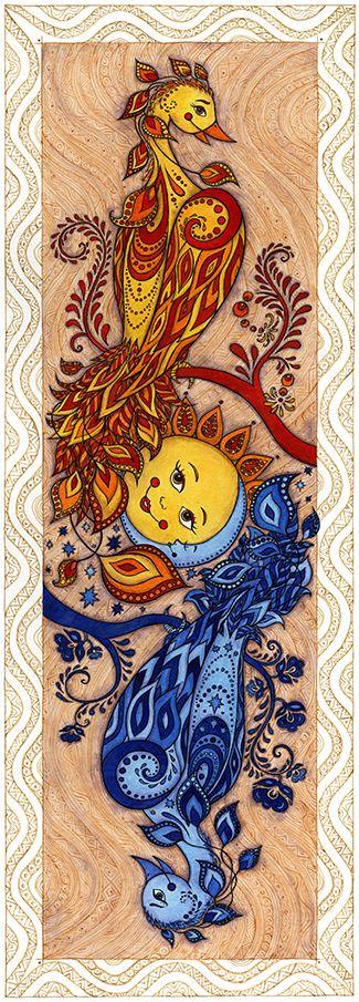 Spectacular Carpe Diem Carpe Noctem by Mariya Olshevska via Behance