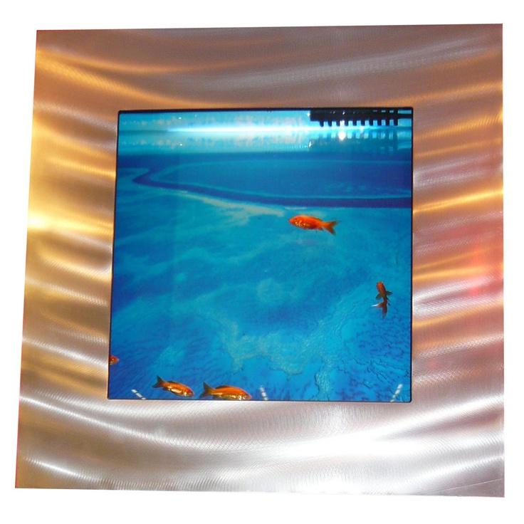 explore aquarium mural