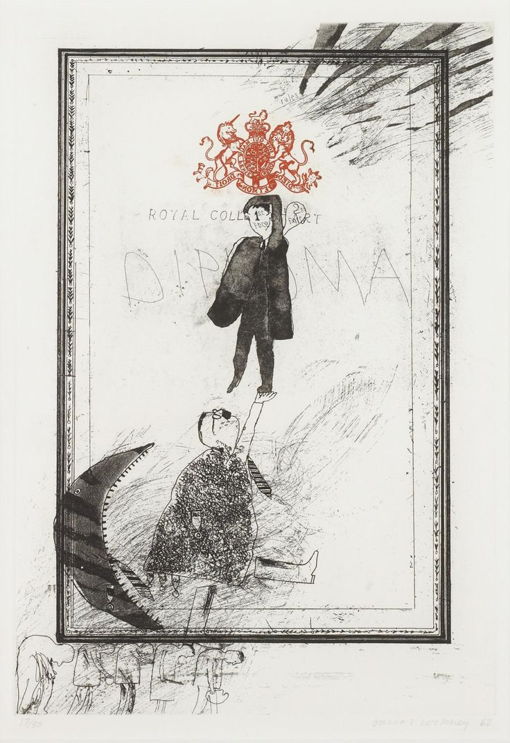 David Hockney - Royal College of Art - Diploma, 1962
