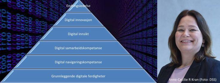Digital Kompetanse Pyramide Oppslag