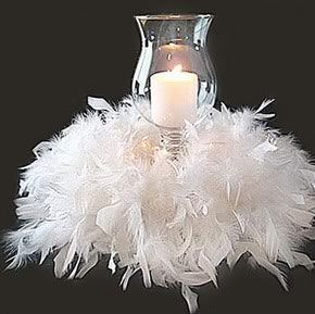 All White Party Centerpiece