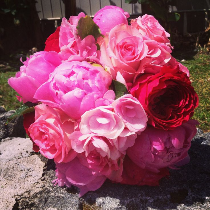Gorgeous pink bouquet- Flowers by GiMi