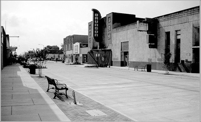 Brunson Theatre Texas Avenue Baytown Texas Vintage