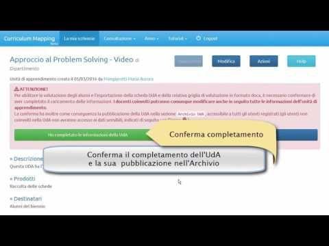 Curriculum Mapping: la didattica per competenze in una piattaforma digitale