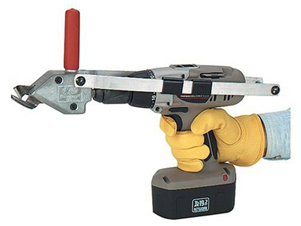 As seen on popularmechanics.com, the Malco TurboShear turns your drill into a cutting machine. Cut steel, aluminum, copper, slate, fiber cement and more. Buy this tool at http://www.rapidmaterials.com/collections/turboshear