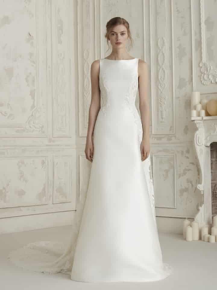 80 vestidos de novia sencillos para bodas civiles   vestidos de