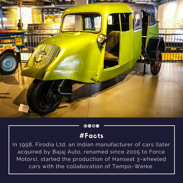 The Bajaj Tempo hanseat also famously called Ganesh Bajaj displayed at the museum is waiting to meet you!  #factfriday #bajaj #vintagetransport #vintagevehicles #transportmuseum #vintagecollection #travel #incredibleindia #gurugram #manesar