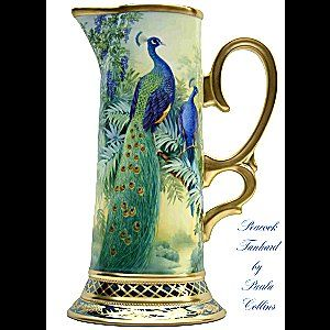 The amazing American Porcelain artist.. .Paula Collins Studies