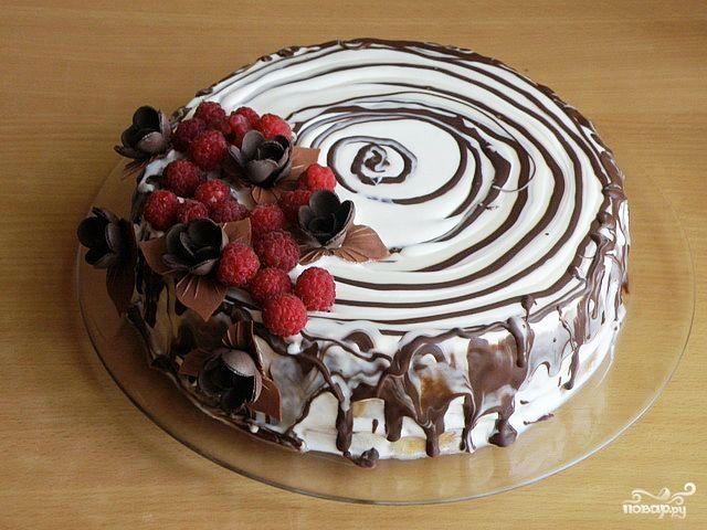 """Торт """"Трухлявый пень"""" (классический рецепт) - пошаговый кулинарный рецепт с фото на Повар.ру"""