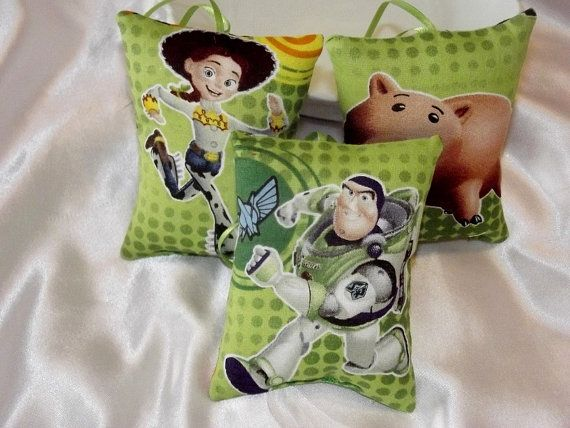 Toy Story Pillow Ornaments  Plush Fabric by MissMissaHandcrafts, $12.00