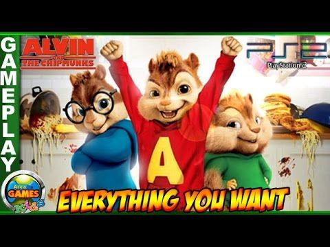 Alvin and the Chipmunks: EveryThing You Want #PS2