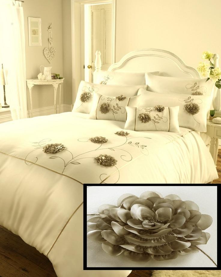 Luxury Bedding Ensembles   Luxury Bedding   Bed Sets   Cream Bedding