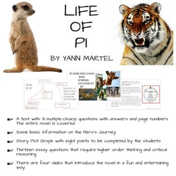 essay on life of pi movie Yann martel's critically acclaimed novel life of pi has been brought to the screen by director ang lee did lee stay true to martel's story mike munoz finds the differences between the film and the novel.