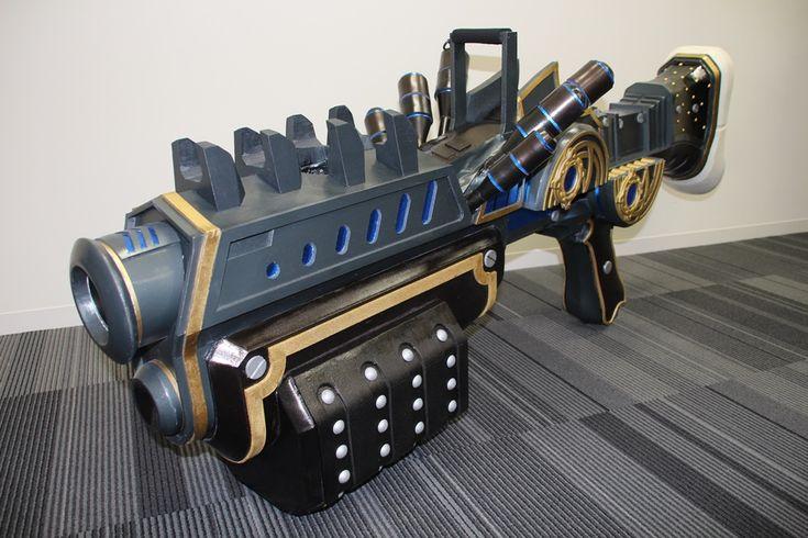 [拡大画像] WIN「TERA」、新クラス「Heavy Gunner」が編集部を訪問 - GAME Watch
