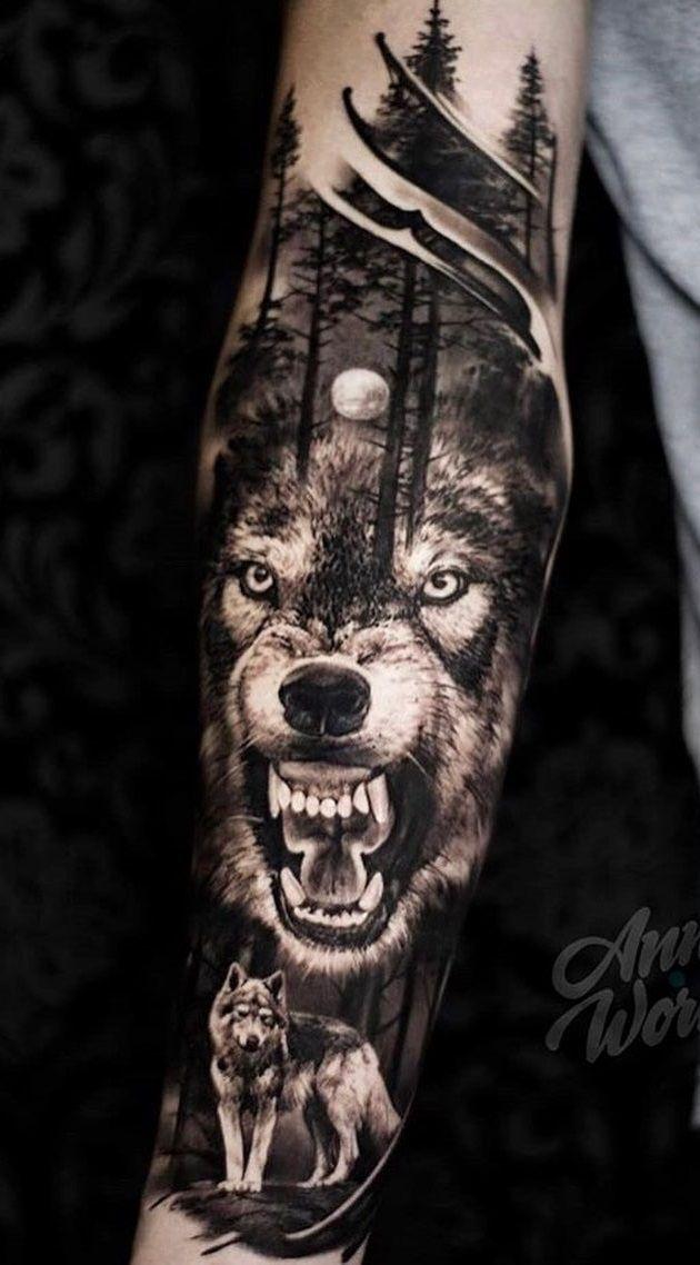 Mas De 120 Tatuajes Para Hombres En Tu Brazo Para Inspirarte En Los Anos Mas De 120 Tatu En 2020 Tatuajes Para Hombres Tatuajes De Lobos Diseno Del Tatuaje De Lobo