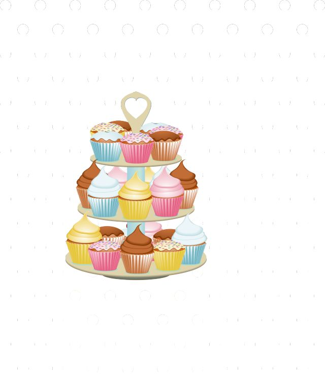 This Free Cupcake Clip Art is Adorable!: Cakes and Cupcakes