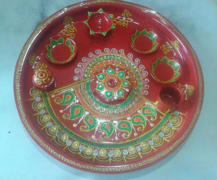 17 best images about pooja ki thali and aarti ki thali on for Aarti decoration pictures