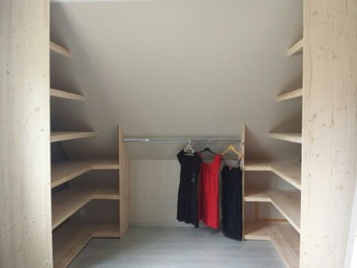 Best 25 dressing sous pente ideas on pinterest dressing sous combles dres - Ikea dressing sous pente ...