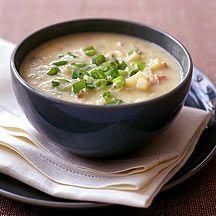 Weight Watchers: Hearty potato soup