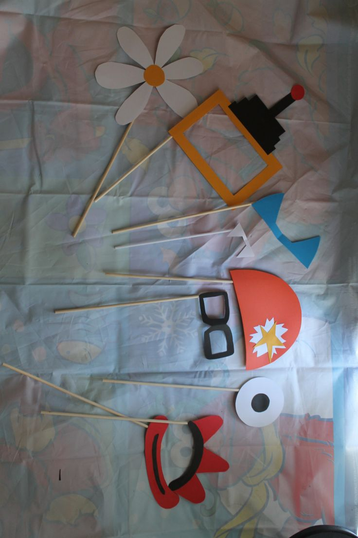 Yo+Gabba+Gabba+Inspired+Photo+Booth+Props+by+WeeLikeToParty,+$20.00