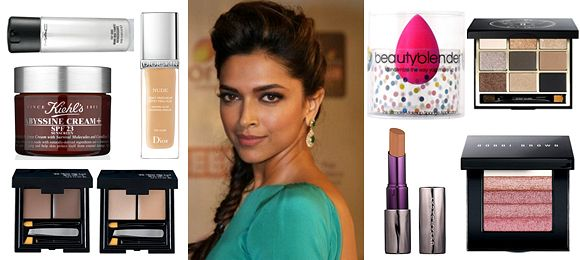 Deepika Padukone's Red Carpet Look by Sana Majeed