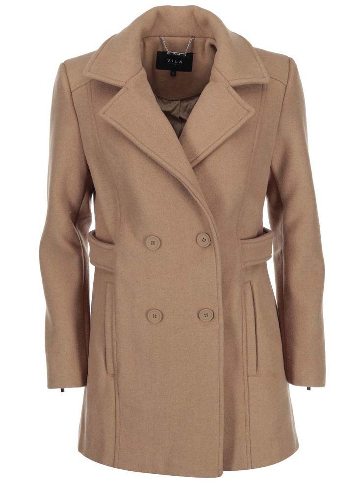 Dámské kabáty VILA kolekce Zima 2016