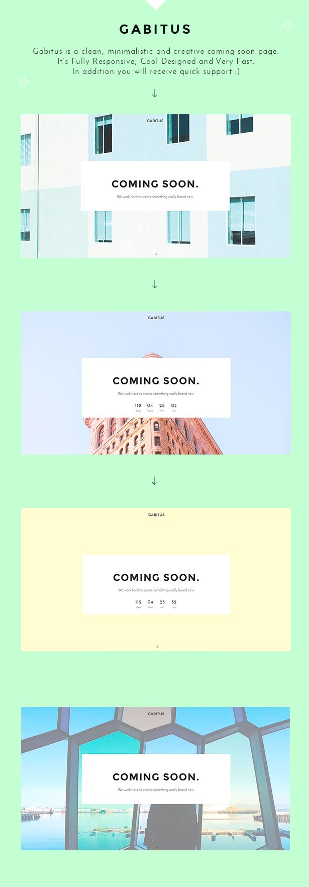 gabitus, coming soon template