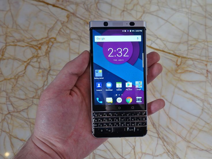 The latest BlackBerry phone brings back the physical keyboard  heres what it can do