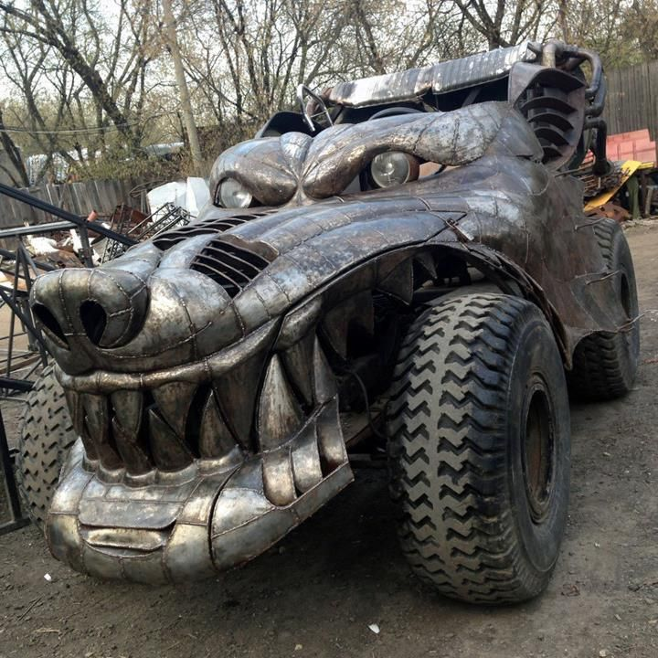 Motorsports 'Big Bad Wolf Truck'