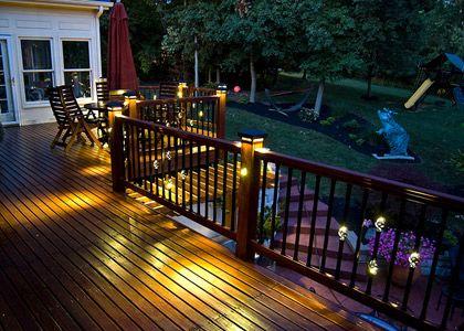 Deck Lighting Ideas Led Recessed Lights Led Deck