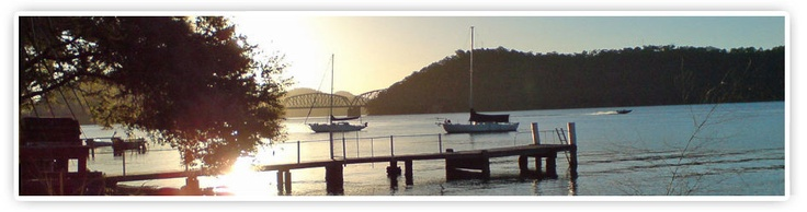 Dangar Island Cafe and Shop (near Brooklyn/Hawkesbury River)