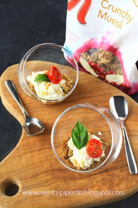 Menta Piperita and Co.: Un cheesecake salato... davvero Special