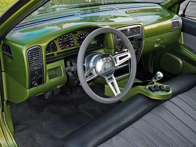 custom 1991 Nissan Hardbody custom Interior Dashboard