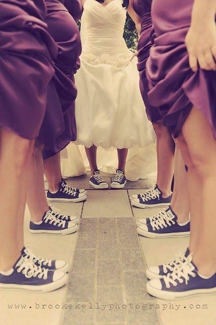 Converse wedding love. #Converse # USBlvd.com #Chuck Taylor® #All Star®