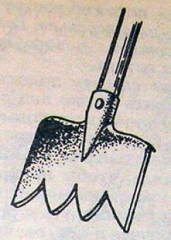С помощью данной лопаты можно быстро обработать сад или новый участок