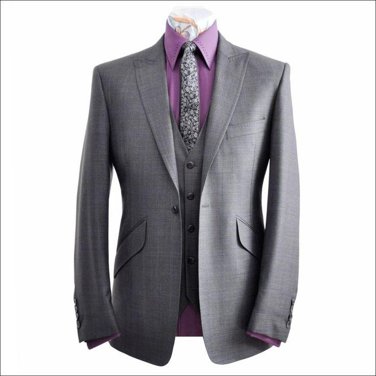 armani three piece suits coat pant men suits