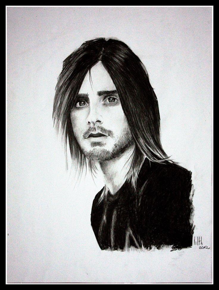 """Jared Leto"" drawing by Rude Mleko"