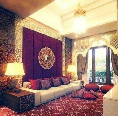 M s de 25 ideas incre bles sobre salones marroqu es en for Cortinas marroquies