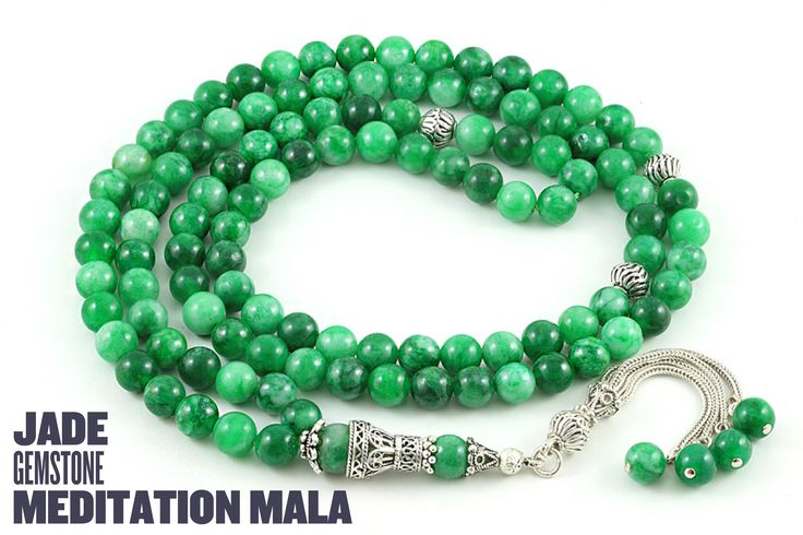 Jade mala. #meditation #mala #malabeads #jade #gemstone