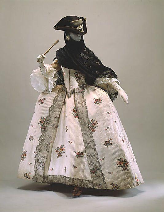 Off to the masquerade! 1765-1770, British, Met Museum.
