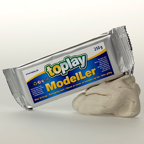selvhærdende ler, Lufttørre, giftfrit, velegnet til børn, Airdry clay, Nontoxic