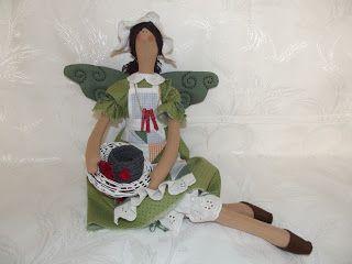 Авоська рукоделок : Куклы Тильды.Новый поворот.