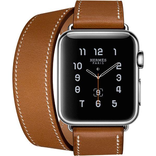 Apple Watch Hermès ❤ liked on Polyvore featuring jewelry, watches, apple watch, hermès, hermes watches, hermes jewelry and apple watches
