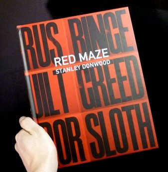 Red Maze Hardback By Stanley Donwood **Sale Price £17 Was £33**     A big tasty book from Holland. Packed full of pics and writings.