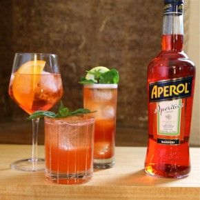 3 Ultra Refreshing #Drinks to Make with #Aperol