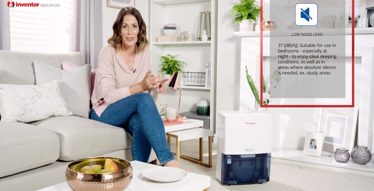 EVA II Pro Wi-Fi Luftentfeuchter 20L/Tag. Sehen Sie sich unser neues Video über den Luftentfeuchrer, auf Youtube an!!
