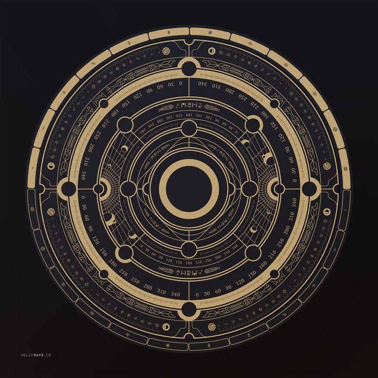 Steampunk Astrolabe Table with Ui by Davison Carvalho DAVISON CARVALHO is a Lead Ui Artist from Irvi