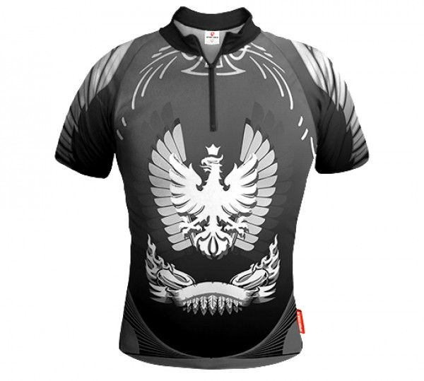ARMOR Biking Jersey Grey HUSSAR WINGS